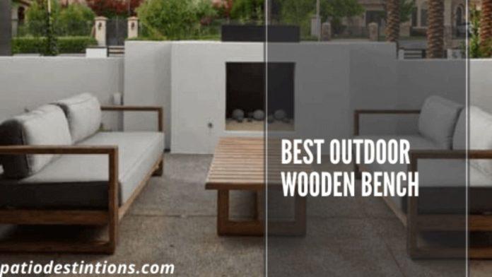 best outdoor wooden bench