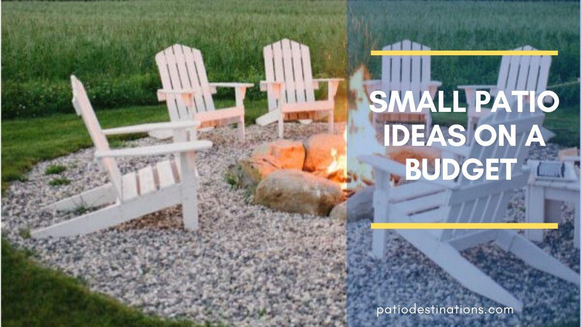 Small Backyard Patio Ideas on a Budget  Cheap Patio Ideas You