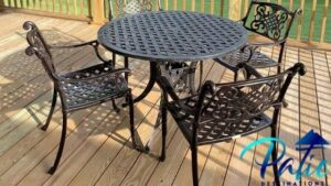 best cast aluminum patio furniture