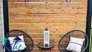 outdoor wind blocker