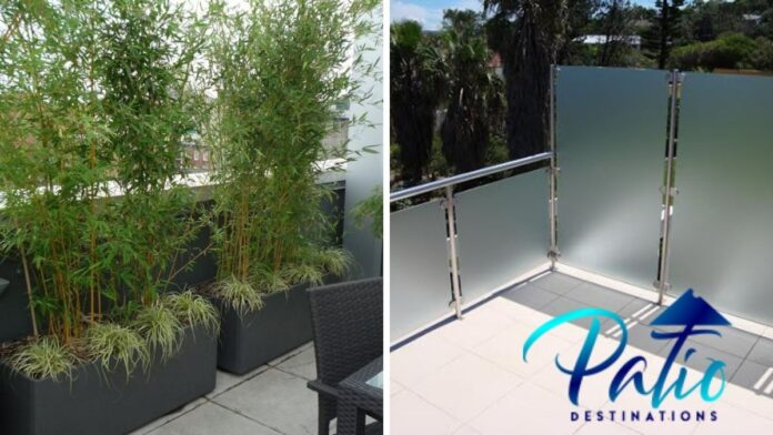 How to make an apartment balcony private