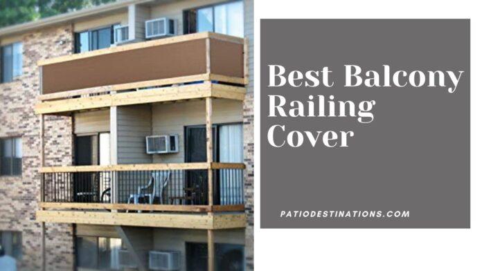 balcony railing cover