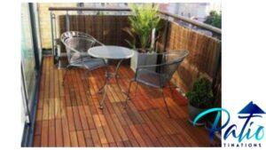 cheap outdoor patio tile over a concrete